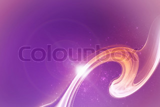 Abstract background with power