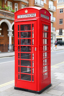 Red London Telefonzelle
