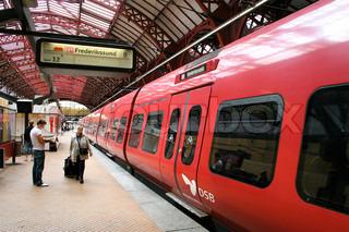 Billede af 'tog, s tog, DSB'