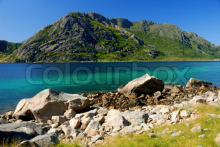 Image of 'lofoten, norway, scenic'