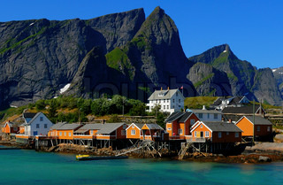 Image of 'lofoten, norway, coast'