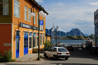 Image of 'lofoten, norway, street'