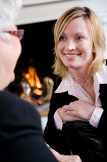 Billede af 'voksen, samtaler, kvinde'