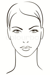 Young woman face