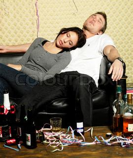 Billede af 'sove, fuld, sofa'