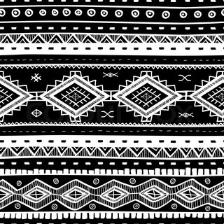 tribal vector seamless background - Ethno Muster