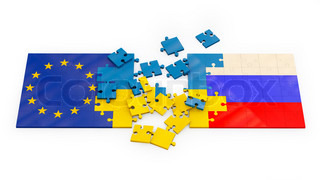 puzzles of stacked flags