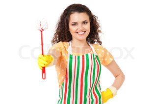 Young housewife