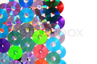 color CD and DVD