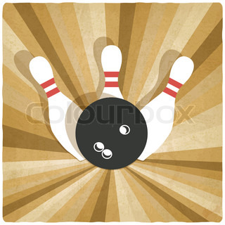 bowling old background