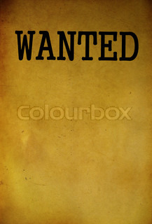 Vintage Wanted Poster Template Background  Old Fashioned Wanted Poster