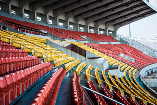 Seat in arena sport