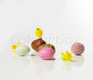 Image of 'easter, candy, easter egg'